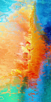 Slice Of Heaven - Abstract Art by Jaison Cianelli