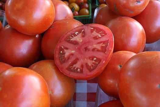 Sliced Tomato by Melany Raubolt