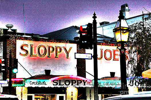 Susanne Van Hulst - Sloppy Joes Night Bar in Key West 2