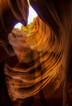 Slot Canyon by Rod Mathis