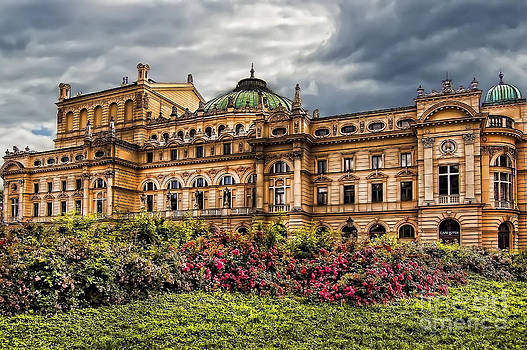Justyna Jaszke JBJart - Slowacki Theatre in Cracow Old Town District