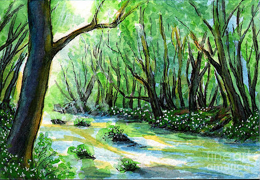 Sm007 Forest River 1 by Kirohan Art