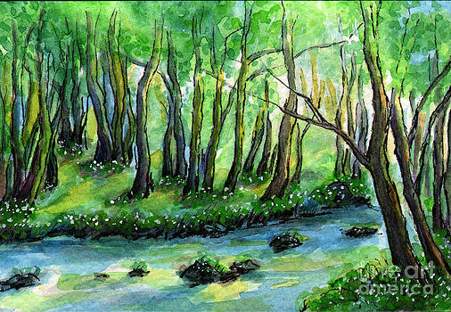 Sm008 Forest River 2 by Kirohan Art