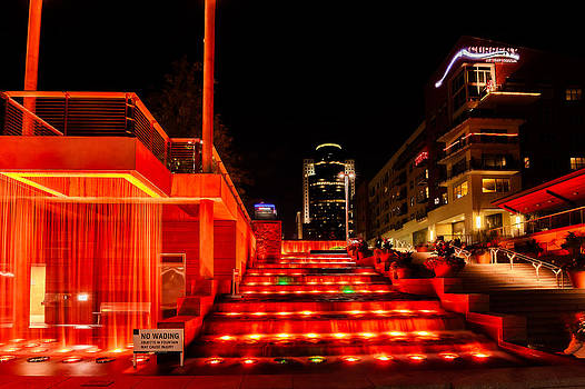 Smale Park at night by Keith Allen