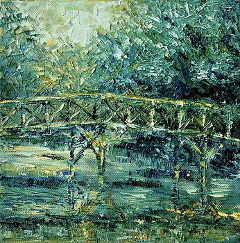 Small bridge by Beata Belanszky-Demko