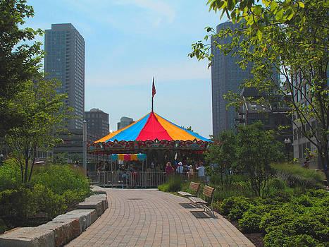 Barbara McDevitt - Small Carousel in a Big City