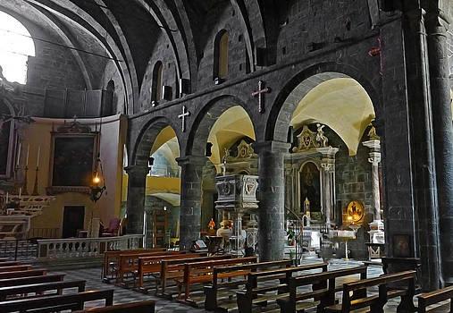 Herb Paynter - Small Church Interior