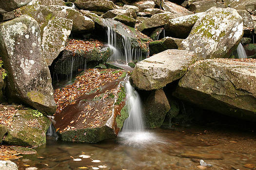 Small Rock Falls by Mark Russell