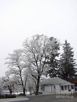 Windy Mountain - Small Town Snow Scene