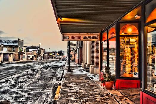Small town winter by Michelle and John Ressler