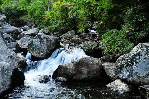 Small Waterfall by Adam LeCroy
