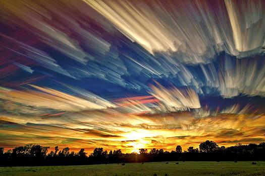 Smeared Sky Sunset by Matt Molloy