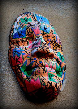 Smiling Coloured Face by Riad Belhimer