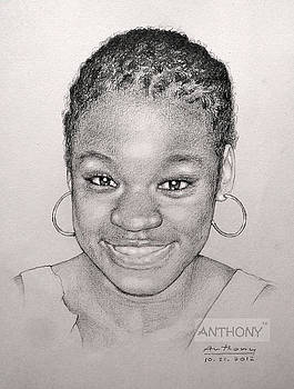 Smiling Girl by Anto