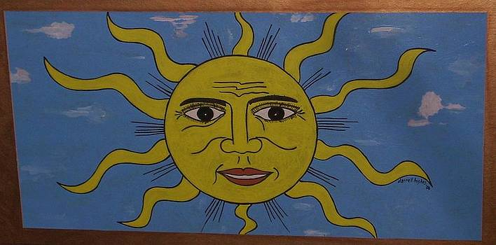 Smiling Sun by Darrell Hughes