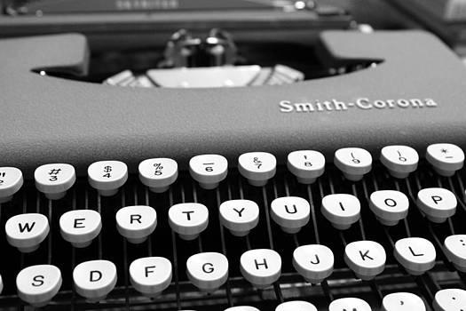 Smith-Corona Skyriter Typewriter by Brandi Perry