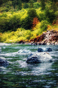 Smith River in Autumn by Melanie Lankford Photography