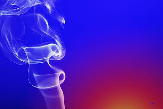 Smoke In Blue by Rick Brandon
