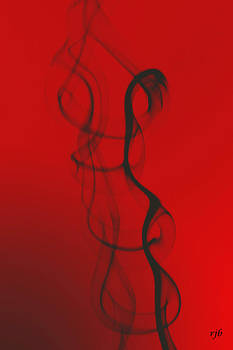 Smoke in Red by Rick Brandon