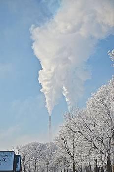 Smokestacks by Jason Layden