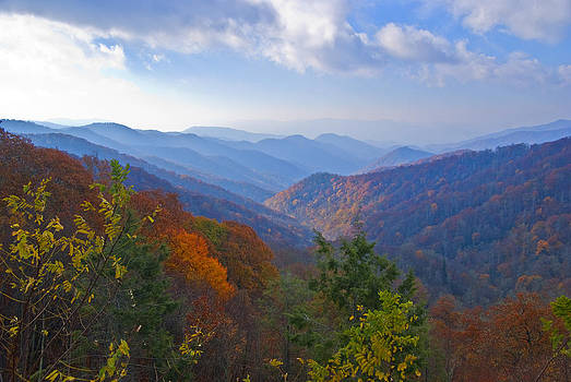 Dennis Cox - Smokies Autumn Morning