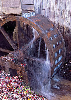 Dennis Cox WorldViews - Smokies Mill Wheel