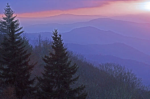 Smokies Sunrise by David Frankel