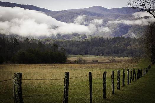 Smoky field by Steve Hucks
