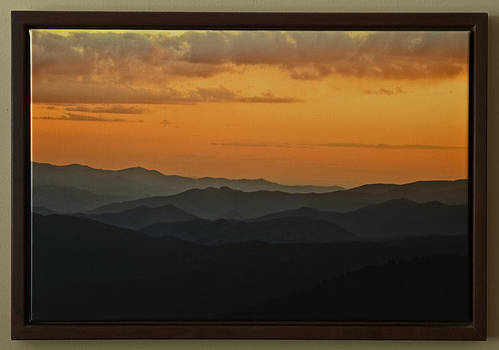 Smoky Mountain Sunset by Rick Hartigan