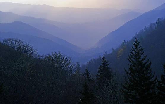 Smoky Mountains at Dawn by David Frankel