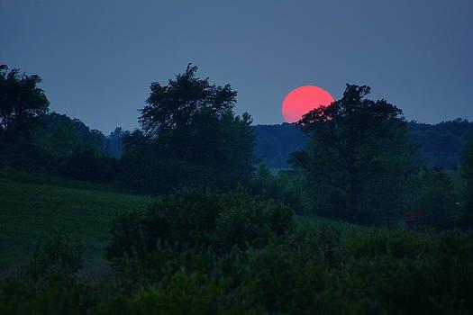 Smoky Sunset by Jann Kline