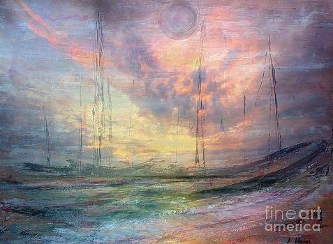 Smooth Sailing by Jessie Art