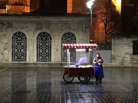 Snack Seller Cankurtaran Istanbul by Doveen Schecter