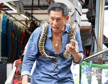 Snake man 02 by Bobby Mandal