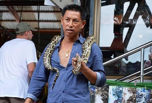 Snake man  by Bobby Mandal