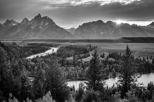 Snake River - Grand Teton National Park by Mike  Walker