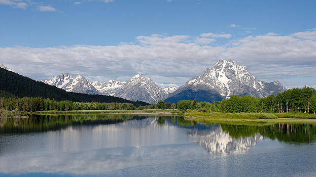 Snake River in Grand Teton  by Gary Wightman