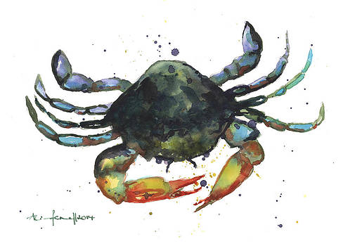 Snappy Crab by Alison Fennell