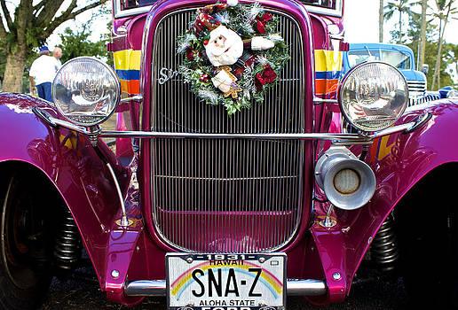 Venetia Featherstone-Witty - Mele Kalikimaka Hawaiian Christmas Car