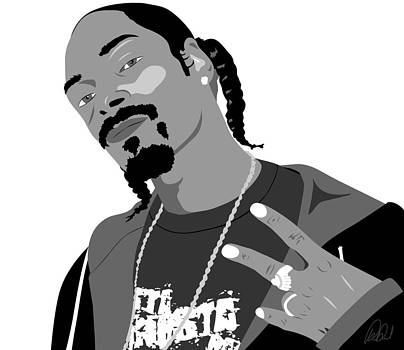 Snoop Dogg D o double g by Paul Dunkel