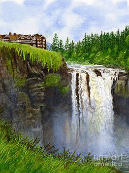 Sharon Freeman - Snoqualmie Falls Vertical Design
