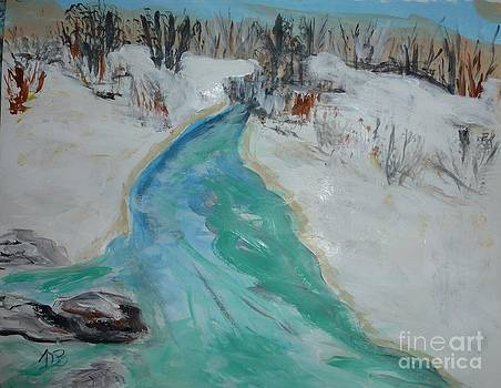 Snow and Water by Marie Bulger