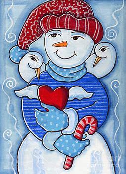Snow Birds and Flurries by Elaine Jackson