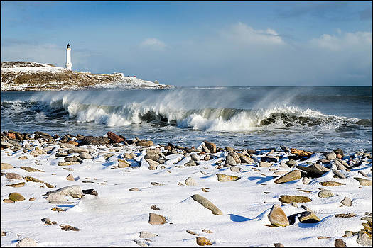 Snow breaker by Bob Falconer