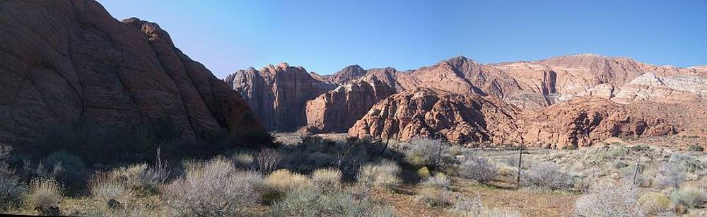 Snow Canyon Valley by Robert Taylor
