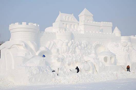 Snow Castle by Brett Geyer