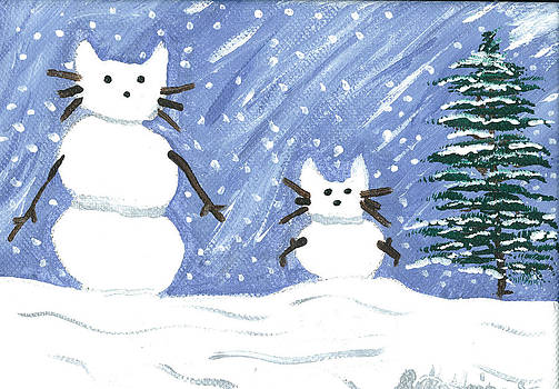 Snow Cats by Beth Haines