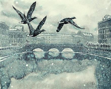 Snow day by Aleksey Zuev