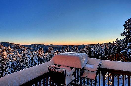 Matt Swinden - Snow Deck Sunrise - Water Color