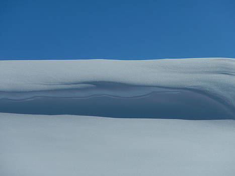 Snow dune by Xanat Flores